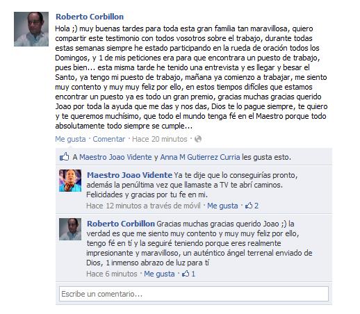 TESTIMONIO DE ROBERTO CORBILLON