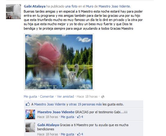 Testimonio Gabi Atalaya
