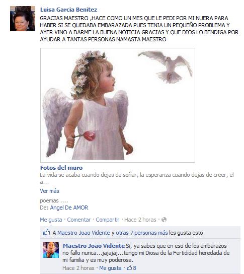Testimonio Luisa García