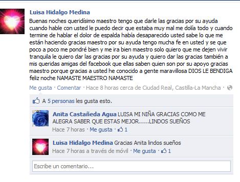 Testimonio Luisa Hidalgo