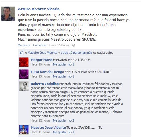 Testimonio de Arturo Álvarez Vicaria