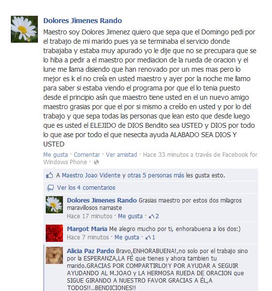 Testimonio de Dolores Jiménez Rando