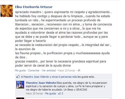 Testimonio de Elisa Etxebarria Ortuzar
