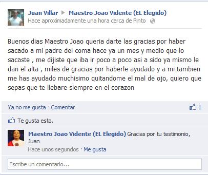 Testimonio de Juan Villar