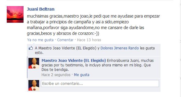 Testimonio de Juani Beltrán