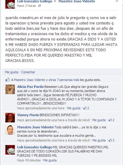 Testimonio de Loli González Gallego