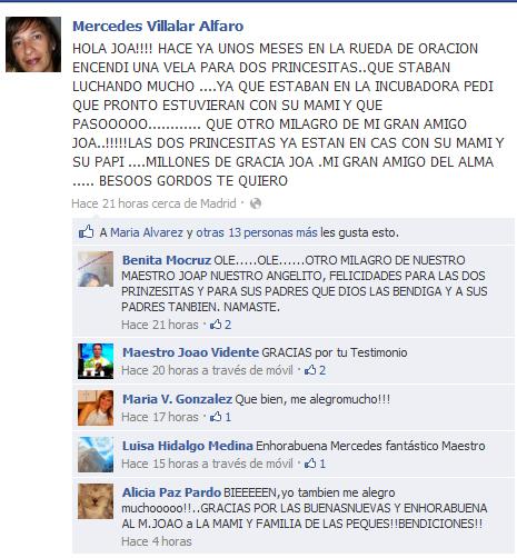 Testimonio de Mercedes Villar Alfaro