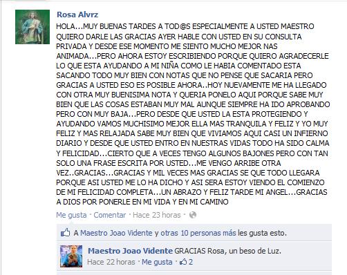 Testimonio de Rosa Álvarez