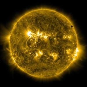 Tránsito de Venus por el Sol