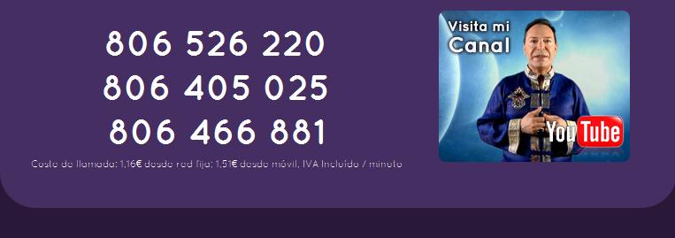 Teléfonos del gabinete del Maestro Joao