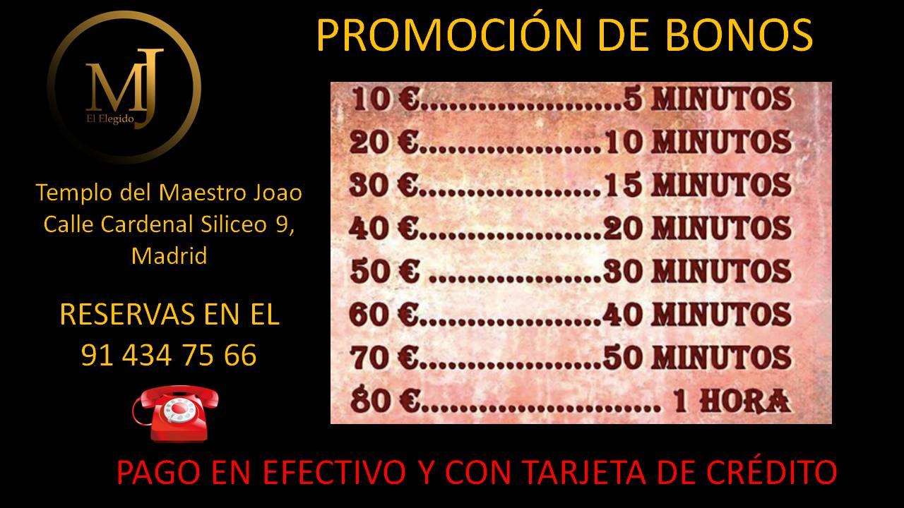 Promoción Bonos Maestro Joao